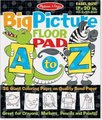 Melissa & Doug Big Picture Floor Pad - A to Z: