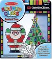 Melissa & Doug Stained Glass - Christmas Ornaments: