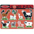 Melissa & Doug Sound Puzzle - Farm Animals (8 Pieces):