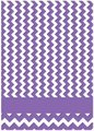 Couture Creations The Harmony Embossing Folder  - Chevron (5x7):