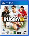 Rugby 18 - Pre-Order to Receive Lions DLC & a Pair of DJ Fresh Budds Headphones (PlayStation 4, Blu-ray disc):