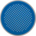 Round Slip Proof Tray (Blue):