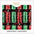 "Holly & Ivy 14"" Luxury Crackers - Red and Green Falala (6 Pack):"