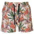 Pierre Cardin Mens Tropical Swimshorts - Stone AOP  [Parallel Import]: