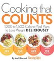Cooking That Counts - 1,200 to 1,500-Calorie Meal Plans to Lose Weight Deliciously (Paperback): Editors of Cooking Light