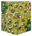 Heye Guillermo Mordillo Puzzle - Crazy Football (1000 Pieces):