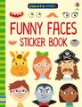 Funny Faces Sticker Book (Paperback): Sam Smith