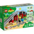 LEGO DUPLO Train Bridge and Tracks (26 Pieces):
