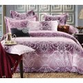 Hometex Nadia Lilac Duvet Set (King):