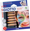Giotto Make Up Cosmetic Pencils (6 Pieces):