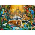 Clementoni Mystic Tigers Jigsaw Puzzle (1000 Pieces):