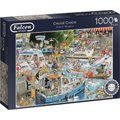 Jumbo Falcon Graham Thompson Jigsaw Puzzle Cruise Chaos (1000 Piece):