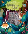 Peep Inside a Fairy Tale Beauty and the Beast (Board book): Anna Milbourne