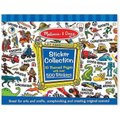 Melissa & Doug Sticker Collection - Blue: