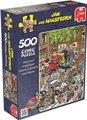 Jumbo Jan Van Haasteren Traffic Chaos Jigsaw Puzzle (500 Piece):