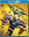 The LEGO Batman Movie - 3D (Blu-ray disc):