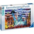 Ravensburger New York Collage Jigsaw Puzzle (2000 Pieces):