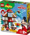 LEGO DUPLO Disney - Mickey's Vacation House (57 Pieces):