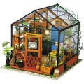 Robotime Wooden Model DIY House Kit - Cathy's Flower House:
