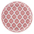 Christopher Vine Alcazar Tapas Plate with Red Circles (23cm): Christopher Vine Designs