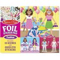Melissa & Doug Foil Sticker Pad - Fashion:
