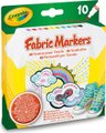 Crayola Fabric Markers (Pack of 10) (Assorted Colours):