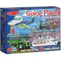 Melissa & Doug Going Places Floor Puzzle (48  Piece):
