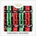 "Holly & Ivy 12"" Family Crackers - Red and Green Stars (12 Pack):"