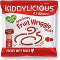 Kiddylicious Wriggles - Strawberry (12g):