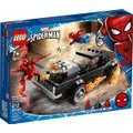 LEGO Marvel Spider-man - Spider-Man and Ghost Rider vs. Carnage (212 Pieces):