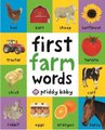 First Farm Words (Hardcover): Roger Priddy