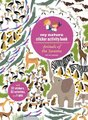 My Nature Sticker Activity Book: Animals of the Savanna (Paperback): Olivia Cosneau