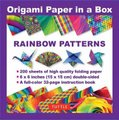 Origami Paper in a Box - Rainbow Patterns (Paperback): Tuttle Publishing