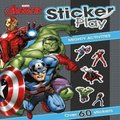 Marvel Avengers: Sticker Play (Paperback):