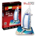 Cubic Fun 3D Puzzle Burj Al Arab (Dubai) (44 Pieces):