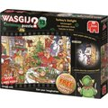Jumbo Wasgij Christmas 13 Turkey's Delight Jigsaw Puzzle (1000 Piece):
