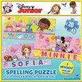 Disney Junior Spell My Name Puzzle (3 x 20 Piece):