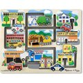 Melissa & Doug Maze Puzzles - Wooden Vehicles: