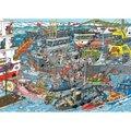 Jumbo Jan Van Haasteren Sea Port Jigsaw Puzzle (500 Piece):