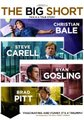 The Big Short (DVD): Christian Bale, Steve Carell, Ryan Gosling, Brad Pitt