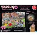 "Wasgij ""What if Dinosaurs Still Existed?"" Jigsaw Puzzle (1000 Pieces):"