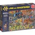 Jumbo Jan Van Haasteren The Roller Disco Jigsaw Puzzle (1000 Pieces):