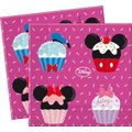 "Minnie Mouse ""D-Lish"" - 2-Ply Paper Napkins (20 Pack):"