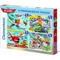 Clementoni Planes Puzzle (12+20+24+35 Pieces):