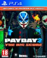 Payday 2 - The Big Score Edition (PlayStation 4, Blu-ray disc):