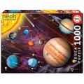 Educa Glow-in-the-Dark Jigsaw Puzzle - Solar System (1000 Pieces):