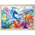 Melissa & Doug Under the Sea Wooden Jigsaw (24 Piece):