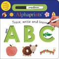 Alphaprints Trace, Write & Learn ABC (Board book): Roger Priddy