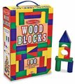 Melissa & Doug Classic Toys - 100 Wood Blocks Set:
