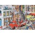 Jumbo Jan Van Haasteren Fire Jigsaw Puzzle (500 Piece):